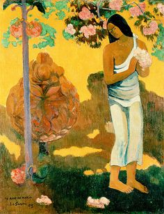 The Month Of Mary  Paul Gauguin