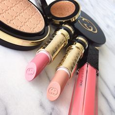 Gucci Beauty | First Impressions: Bronzer, Powder, Eyeshadow Mono, Lipstick + Lip Gloss Review