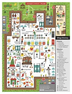 Illustrated Store Map by Nate Padavick
