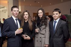 Joseph, Anna, Sarah, and Donnacha O'Brien.