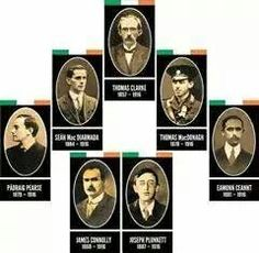 Leaders of 1916 easter rising