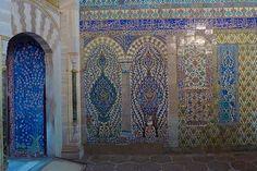 Istanbul Turkey Sultanahmet Harem Topkapi Palace iznik tile decoration the harem topkapi palace