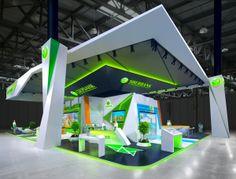 35 by Dmitry Androsov, via Behance Exhibition Stall, Exhibition Stand Design, Trade Show Design, Display Design, Signage Design, Banner Design, Mini Stand, Stand Feria, Displays