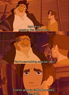 You know what's a shame? That people just don't get how awesome Treasure Planet is. If you believe in the movie and all it's glory, please comment, so I know you're out there.