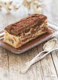 Receta de tiramisú con Thermomix Great Desserts, Delicious Desserts, Yummy Food, Sweet Recipes, Cake Recipes, Dessert Recipes, Thermomix Desserts, Cake Shop, Different Recipes