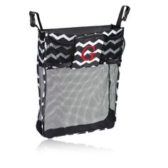 On A Stroll Bag in Black Chevron for $25 - You'll be on a roll with this fabulous bag! It easily attaches to strollers, walkers, wheelchairs and grocery carts to keep essentials handy when you're on the go. Errands couldn't be simpler! Two exterior front cup holders fit bottled water or sippy cups to keep you and your kids refreshed while you're out and about. Via @thirtyonegifts