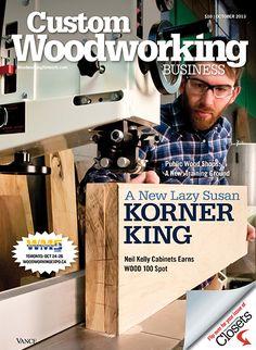 Custom Woodworking Business Magazine on Pinterest | Custom woodworking ...