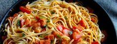 Zdravé těstoviny s pestem