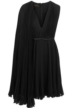 Shop on-sale Giambattista Valli Satin-trimmed pleated silk-georgette dress. Browse other discount designer Dresses & more on The Most Fashionable Fashion Outlet, THE OUTNET.COM