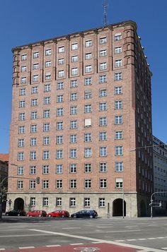 Hochhaus Blumenstraße - Städtisches Hochhaus (München) – Wikipedia