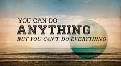 Yes You Can !!