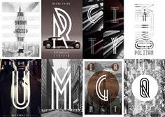 Art Deco Typography, Typography Letters, Typography Design, Logo Design, Graphic Design, Typography Served, Creative Typography, New Free Fonts, New Fonts