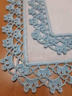 Crochet Boarders, Crochet Edging Patterns, Crochet Lace Edging, Doily Patterns, Crochet Doilies, Crochet Stitches, Knitting Patterns, Bobble Crochet, Crochet Bunny