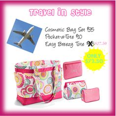 Thirty-One's March Special: Travel in Style