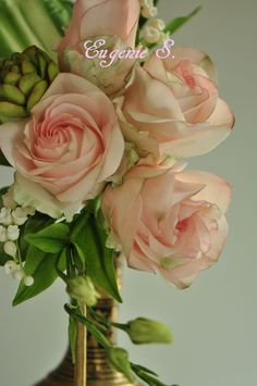 Gorgeous roses in a bouquet