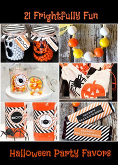 21 Frightfully Fun Halloween Party Favors