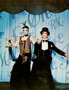 "Liza Minnelli and Joel Grey in ""Cabaret""  (1972)  Liza Minnelli - Best Actress Oscar 1972"