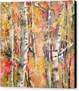 Autumn Trees Canvas Print by Robin Miller-Bookhout