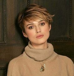 15 Keira Knightley Pixie Haircuts | http://www.short-haircut.com/15-keira-knightley-pixie-haircuts.html