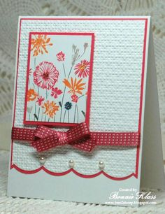 Blooming Meadow Summer by bon2stamp - Cards and Paper Crafts at Splitcoaststampers