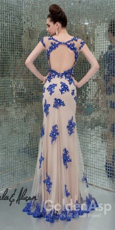 Stunning Cap Sleeve Gown Angela and Alison 41082 Cap Sleeve Gown, Cap Sleeves, Open Back Prom Dresses, Beaded Lace, Formal Gowns, Dresses Online, Evening Dresses, Fashion Dresses, Elegant