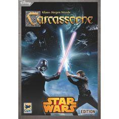 Z-man Games Carcassonne: Star Wars Hans Im Gluck, Man Games, Rebel Alliance, Bounty Hunter, Star Wars, Baseball Cards, Adventure, Stars, Walmart