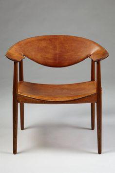 via BKLYN contessa :: Armchair Metropolitan Designed by Aksel Bender Madsen and Ejner Larsen c1950s | from Modernity #design #mcm