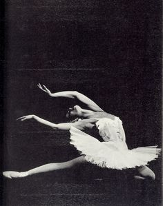 Maya Plisetskaya as White Swan