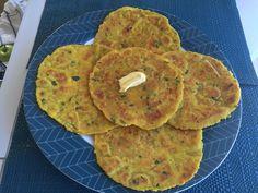 Moong Dal Paratha (Yellow Split Moong Dal Flat Bread)