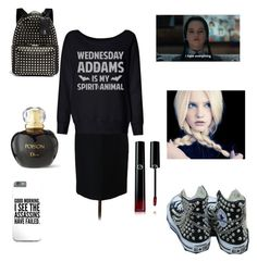 """Untitled #169"" by mikayla-burgess ❤ liked on Polyvore featuring J.Crew, Converse, Christian Dior, Valentino and Giorgio Armani"