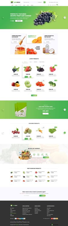 Pixelstore is clean and modern design #PSD template for stylish #eCommerce shop #website with 4 homepage layouts and 32 layered PSD pages to live preview & download click on Visit