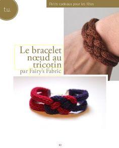 though I do spool knit. Jewelry Knots, Jewelry Crafts, Spool Knitting, Paper Fashion, Macrame Cord, Crochet Bracelet, Celtic Knot, Knit Crochet, Crochet Patterns