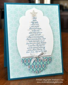 by Beth McAlexander, Card Creations by Beth: Another Christmas Card