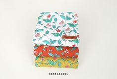 Wildflower fabric Wildflower pattern 44x35 100% by KoreaBacol