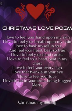 Merry Christmas, my Heart!!  I love you!!!