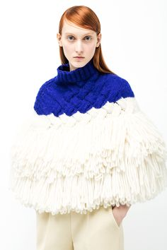 Delpozo Pre Fall 2016 Knitwear Collection now available at http://www.Delpozo.com/en/shop/knitwear