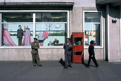 Tienda departamental, Pyongyang. 1981