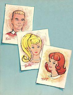 Great vintage Barbie graphics!