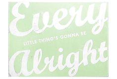 Every Little Thing, Light Green on OneKingsLane.com