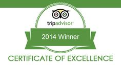 Certificate of Excellence 2014