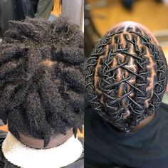 A reliable, healthy loc gel that delivers quality! Short Dread Styles, Short Dreadlocks Styles, Mens Dreadlock Styles, Loc Styles For Men, Hair Twist Styles, Braid Styles, Locs Styles, Natural Hair Braids, Braids For Black Hair