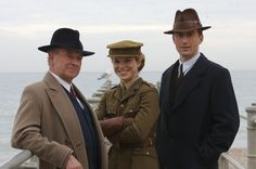 Foyle's War - why do I love these three so much?  Partially because they're British, I daresay.  In any case, they have thoroughly charmed me.  Yay for British mysteries!