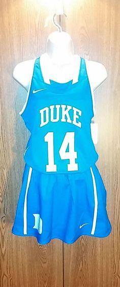 Nike Duke Blue Devils Women s Medium Official Game Lacrosse Top Skirt  Uniform  Nike  SkirtsSkortsDresses. Basketball Lovers · Basketball Clothes 3548e3fa0