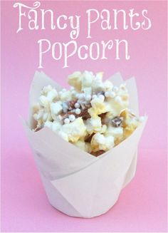 Fancy Pants Popcorn