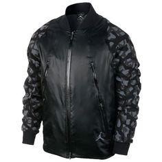 ebcfc6ca749 Nike Air Jordan AJ Flight Member Camo Jacket Sz L Black/anthracite for sale  online