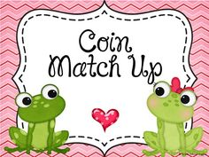 FREE!: This is a center activity that focuses on counting coins up to a dollar.
