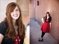 Samantha in Downtown El Paso, Texas for her high school senior photo session by Karen Laine Photography