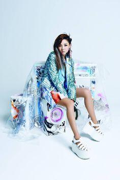 2NE1 in Thailand's Nylon Magazine, August 2014