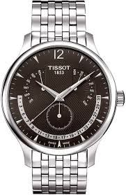 89aa91c33e8 Tissot Tradition Steel Anthracite Dial Men's Bracelet Watch From Berry's  Jewellers