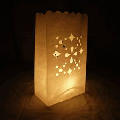 Luminary bags for walking into the gala. We can DIY and make much cooler.  Well water logo?   Luminary Bags for Party, Event, Wedding Reception Decor 20 Bags